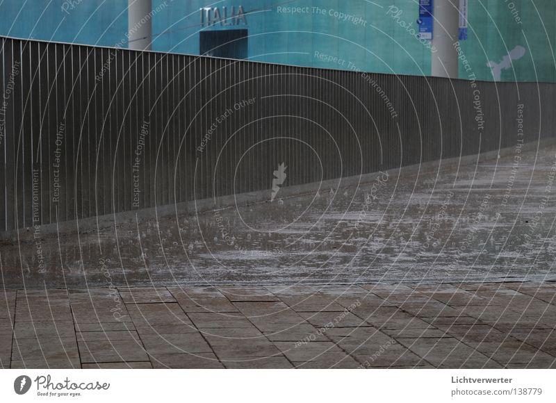 regen ueber expo Wasser Regen Italien Verkehrswege