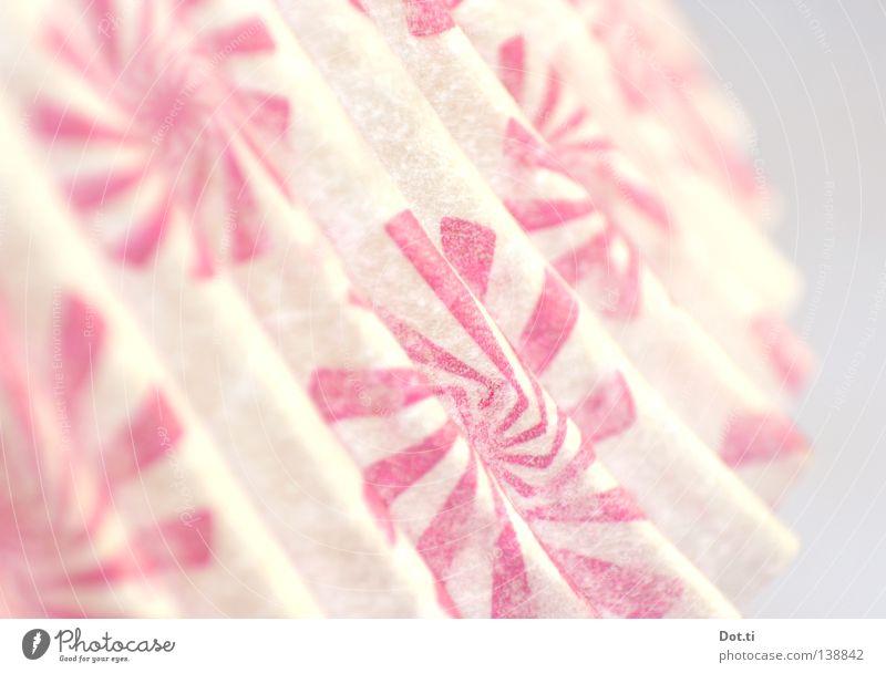 spiral nebula [astr.] Manschette Lampenschirm drucken Muster Spirale durchdrehen schwindelig graphisch rosa weiß Papier Pergamentpapier gefaltet Wellen Am Rand