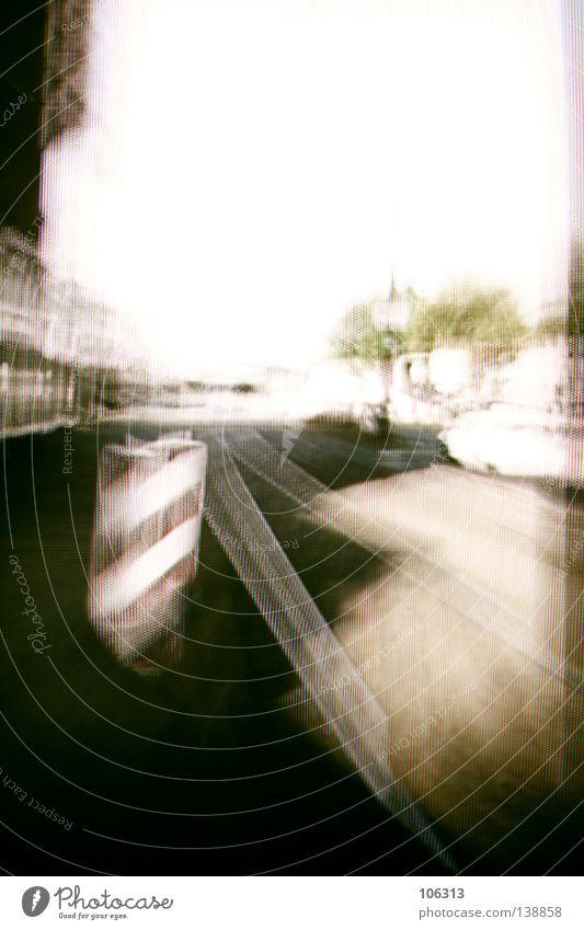 [PRGB.02] STREETLIFE Stadt Straße Leben Stil Erde Raum Schilder & Markierungen Technik & Technologie Baustelle Bild Dinge Gleise Teile u. Stücke Verkehrswege bauen Surrealismus