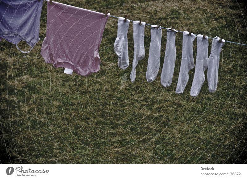 Antibakteriell weiß Bekleidung T-Shirt Sauberkeit rein Strümpfe Wäsche Waschmaschine Wäscheleine Wäscheklammern gewaschen Wäschetrockner