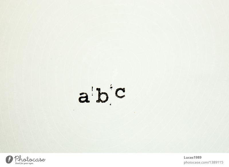 abc weiß schwarz Schule Deutschland Schriftzeichen lernen Papier lesen Buchstaben Bildung schreiben Schüler Kindergarten Brief Kindererziehung Stempel