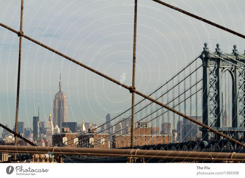 New York - New York, big city of dreams Ferien & Urlaub & Reisen Stadt Ferne Lifestyle außergewöhnlich Business Metall Tourismus Hochhaus groß Beton Abenteuer