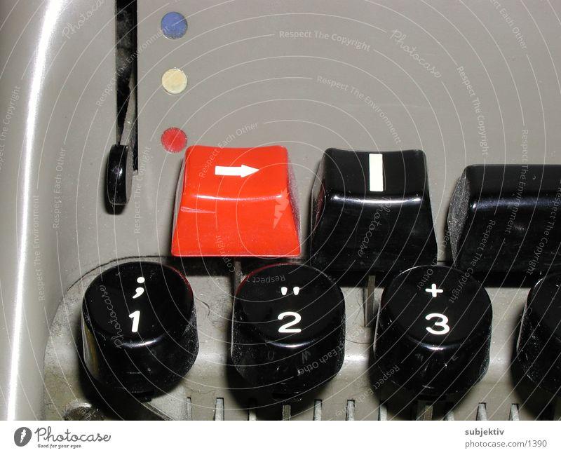 Olivetti 1 Dinge schreiben Text Schreibmaschine