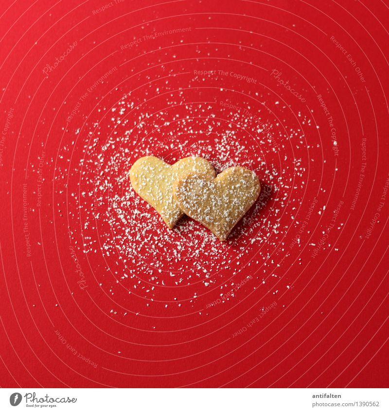 winter love Lebensmittel Teigwaren Backwaren Süßwaren Keks Plätzchen Plätzchen ausstechen Plätzchenteig Ernährung Essen Kaffeetrinken Freizeit & Hobby Frühling