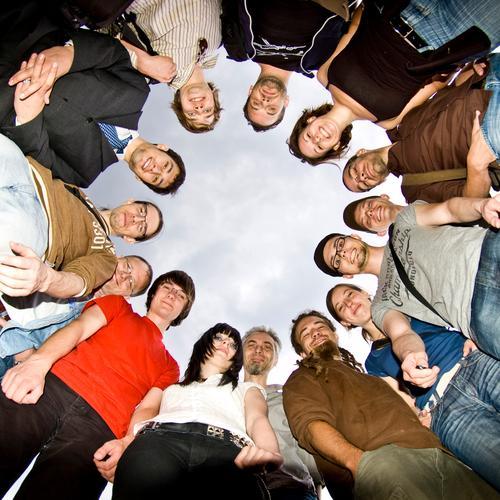 BLN 08 | Usertreffen Menschengruppe Freundschaft Freude Gruppenfoto Kreis Freizeit & Hobby rund