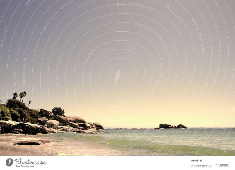 Strand Capetown Meer Sommer Wellen Afrika Südafrika Kapstadt