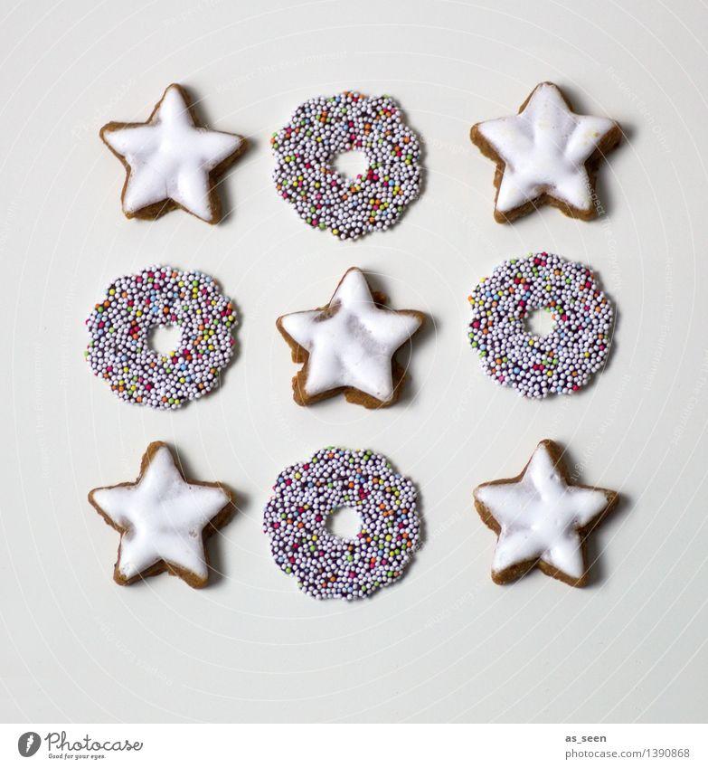 Sternbild Weihnachten & Advent weiß Essen Lebensmittel braun hell Design Ordnung Dekoration & Verzierung modern ästhetisch Ernährung Kreativität genießen