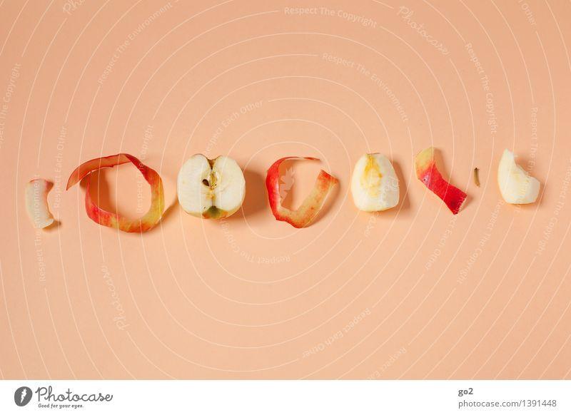 Apfel der Erkenntnis Lebensmittel Frucht Apfelschale Ernährung Essen Bioprodukte Vegetarische Ernährung Diät Gesundheit Gesunde Ernährung ästhetisch lecker