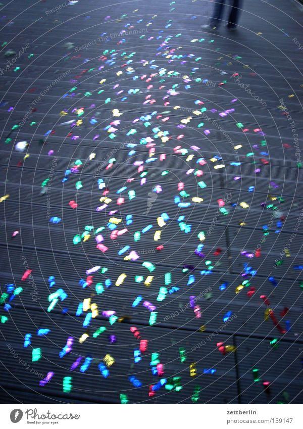 Ende Party Konfetti Schmuck verschönern Gute Laune mehrfarbig Freude Feiertag Feste & Feiern lametta glückshormone ablehnungswelle