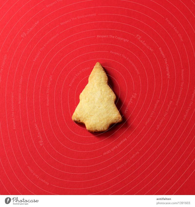 Oh, Tannenbaum! Lebensmittel Teigwaren Backwaren Keks Plätzchen Ernährung Essen Kaffeetrinken Freizeit & Hobby Baum Zeichen Weihnachtsbaum süß rot Freude