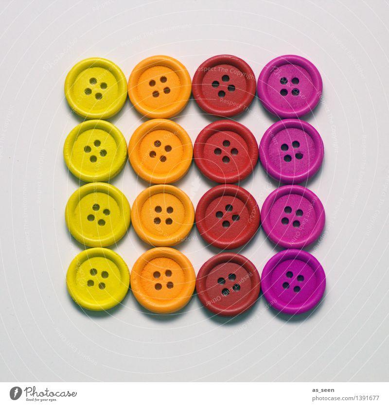 Gruppenzwang Farbe rot gelb Stil hell orange Design Freizeit & Hobby Ordnung Dekoration & Verzierung modern ästhetisch Fröhlichkeit Kreativität planen rund