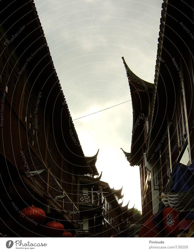 Nostalgic China Shanghai Chinese historisch nostalgic traditional architecture historical Asia.