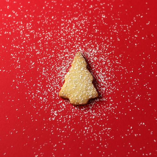 Oh, Tannenbaum im Schnee Lebensmittel Teigwaren Backwaren Süßwaren Keks Weihnachtsgebäck Plätzchen ausstechen Ernährung Essen Kaffeetrinken Freizeit & Hobby