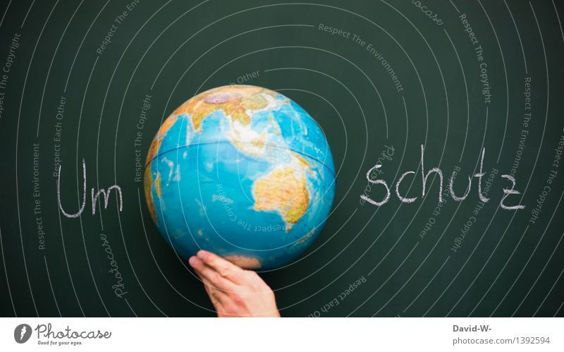 Umweltschutz Ferien & Urlaub & Reisen Tourismus Bildung Wissenschaften Schule lernen Tafel Schüler Mensch Leben Künstler Natur Erde Klimawandel Hoffnung