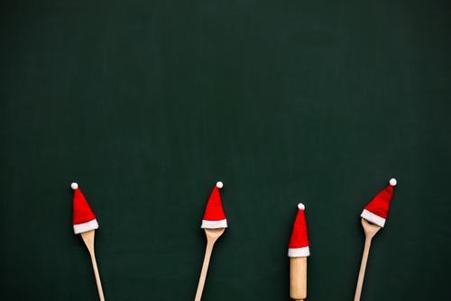 in der Weihnachtsbäckerei Mensch Kind Weihnachten & Advent schön Winter Leben Spielen Familie & Verwandtschaft Zusammensein Wohnung Kindheit Fröhlichkeit