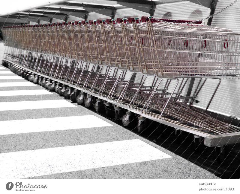 einkauf 1 Dinge Einkaufswagen Konsum
