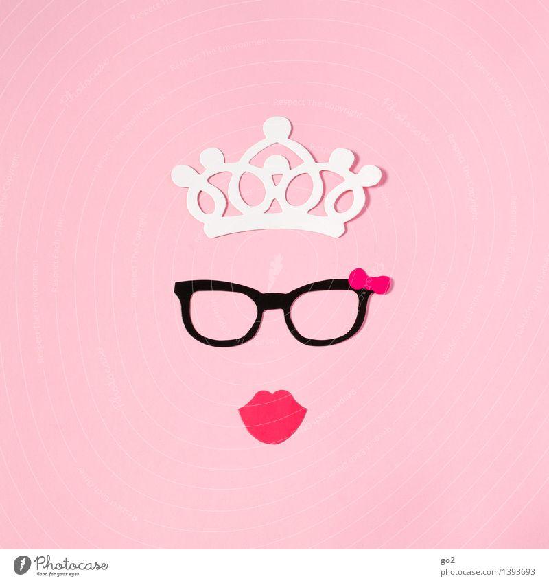 Lady Ashley Frau schön Erotik Erwachsene lustig feminin Stil rosa Design Freizeit & Hobby elegant ästhetisch Kreativität Mund einzigartig Papier