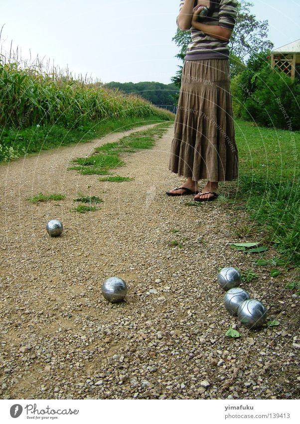 Petanque Sommer Mais Ballsport Boule