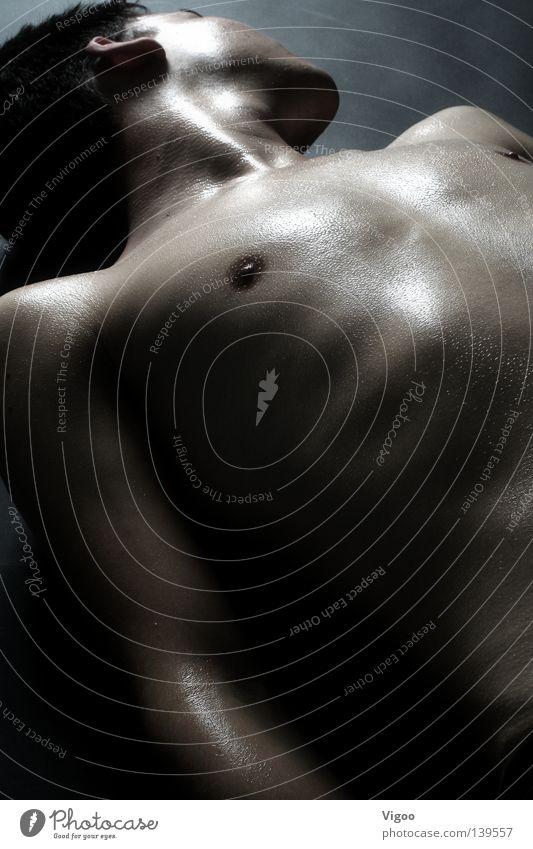 Waxbody Oberkörper Mann Schweiß transpirieren Physik Homosexualität Jugendliche Wärme gay Brust Boy Guy Erotik