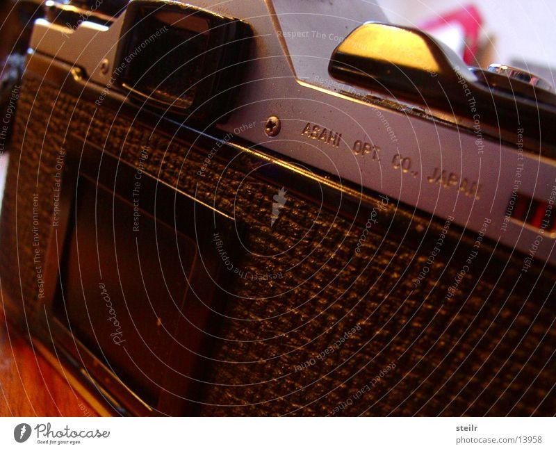 Oldschool Cam alt Metall Fotokamera Dinge analog Japan Sucher Auslöser