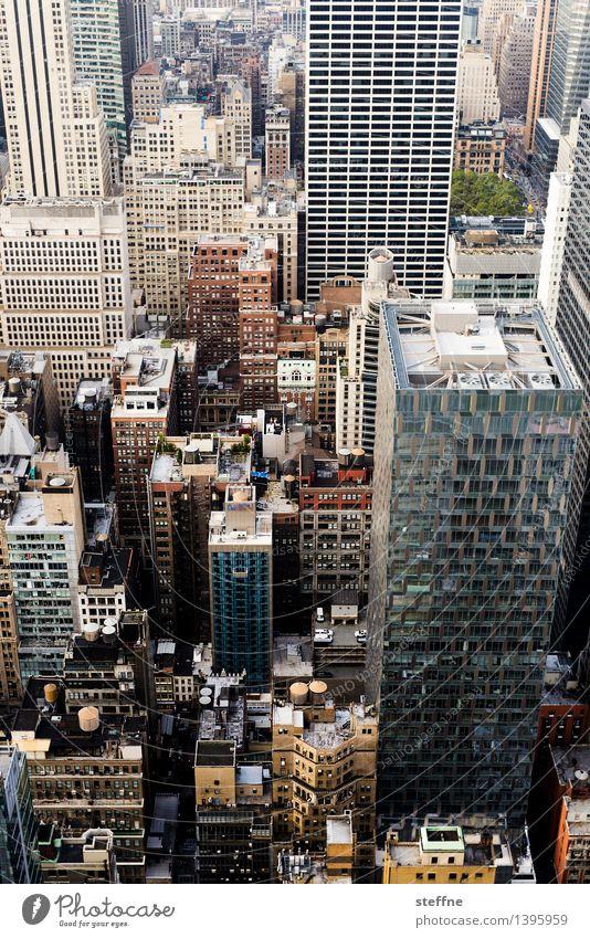 NYC |09 New York City Manhattan USA Stadt Stadtleben Hochhaus Skyline ästhetisch Freiheit Amerika Morgendämmerung Vogelperspektive