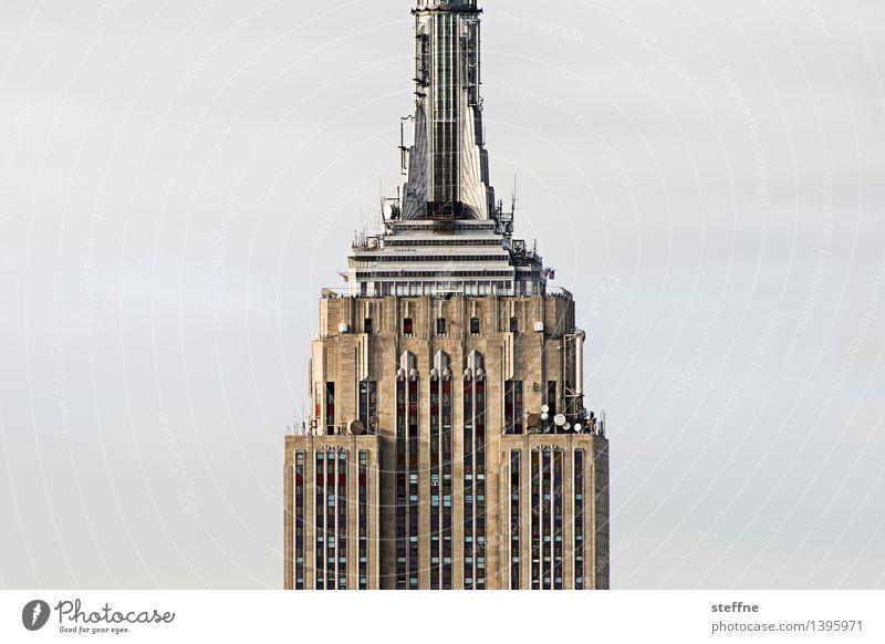 NYC |11 New York City Manhattan USA Stadt Stadtleben Hochhaus Skyline ästhetisch Freiheit Amerika Empire State Building Wahrzeichen Morgen Sonnenaufgang Fassade
