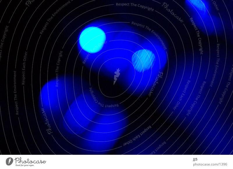 blaue LEDs nah dunkel Beleuchtung Technik & Technologie obskur Leuchtdiode Monochrom