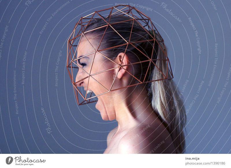 Platzangst Mensch feminin Junge Frau Jugendliche Erwachsene Leben 1 18-30 Jahre 30-45 Jahre schreien Selbstbeherrschung Schmerz Hemmung Angst Todesangst