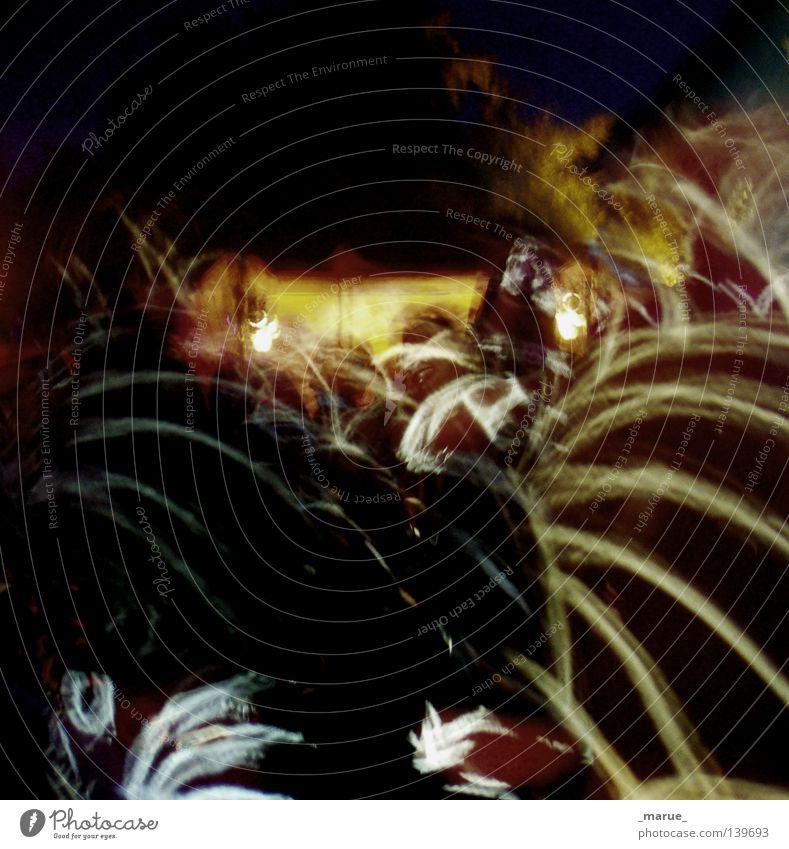 Kulturkosmonauten Menschenmenge Licht Nacht Lichttechnik durcheinander Zusammensein Linie Konzert Musik Musikfestival Fusion Scheinwerfer Stern (Symbol) Tanzen