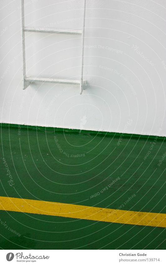 Aufstieg Himmel Wasser weiß grün Ferien & Urlaub & Reisen Sommer Meer gelb Wand Metall See Wasserfahrzeug Deutschland Horizont Wind Freizeit & Hobby