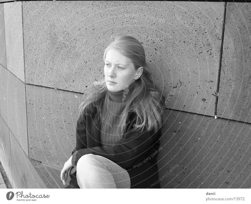 die dani feminin Frau Mensch Schwarzweißfoto