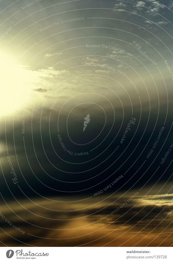 Himmel Wolken Luft Meteorologie Wetterdienst Licht Abenddämmerung Gemälde Hoffnung Hintergrundbild cover cdcover Plattencover Stimmung Troposphäre
