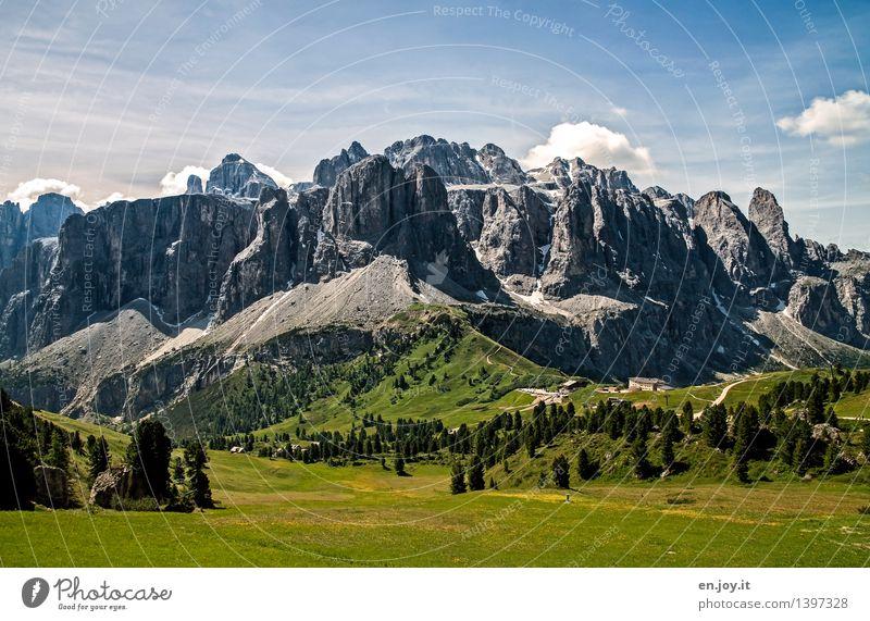 Erdgeschichte Himmel Natur Ferien & Urlaub & Reisen Sommer Landschaft Berge u. Gebirge Frühling Wiese Wege & Pfade Felsen Tourismus wandern Ausflug Klima