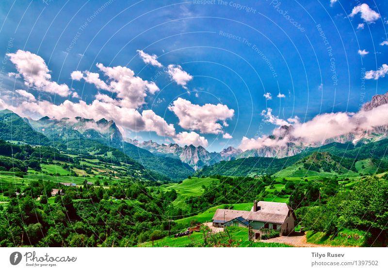 # 1397502 Natur Landschaft Berge u. Gebirge natürlich Farbfoto Außenaufnahme