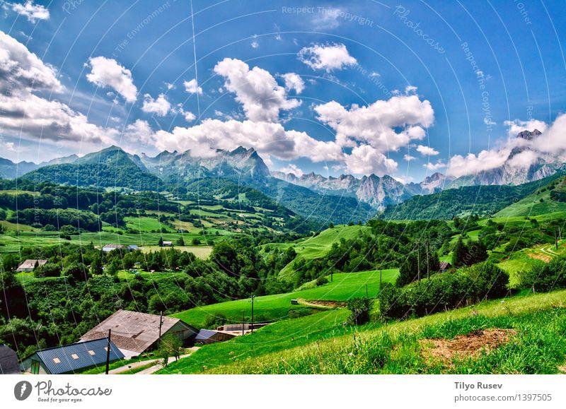 # 1397505 Natur Landschaft Berge u. Gebirge natürlich Farbfoto Außenaufnahme