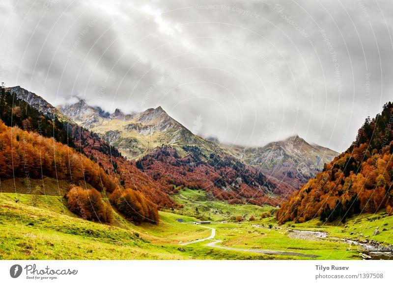 # 1397508 Natur Landschaft Berge u. Gebirge natürlich Farbe Hintergrundbild Beautyfotografie horizontal Farbfoto Außenaufnahme