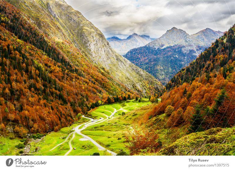 # 1397515 Natur Landschaft Berge u. Gebirge natürlich Farbe Hintergrundbild Beautyfotografie horizontal Farbfoto Außenaufnahme