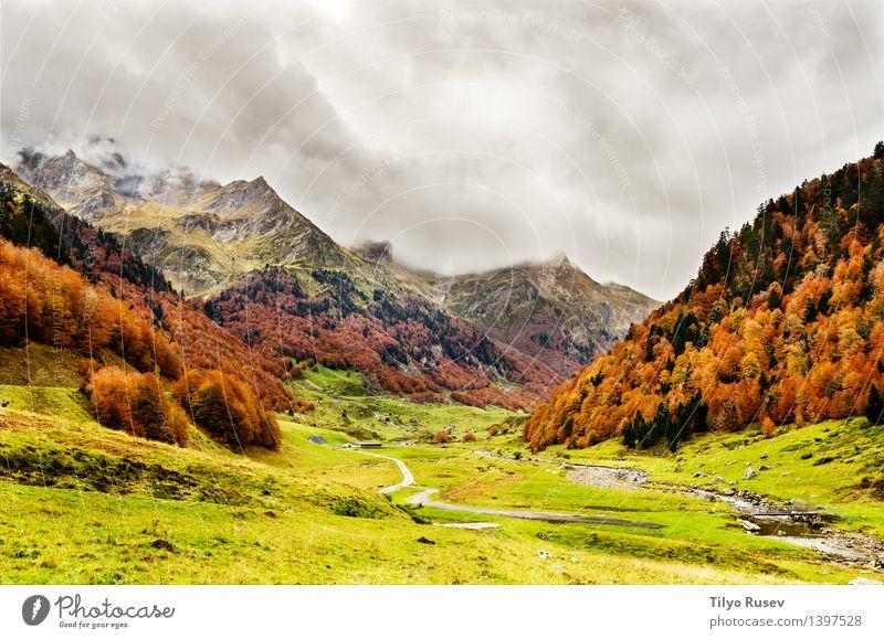 # 1397528 Natur Landschaft Berge u. Gebirge natürlich Farbe Hintergrundbild Beautyfotografie horizontal Farbfoto Außenaufnahme