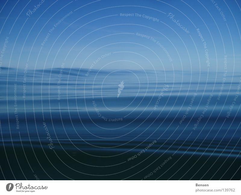 Die blaue Lagune tauchen Schnorcheln Hiddensee Rügen Reflexion & Spiegelung Meer Wellen Sommer Wasser Ostsee