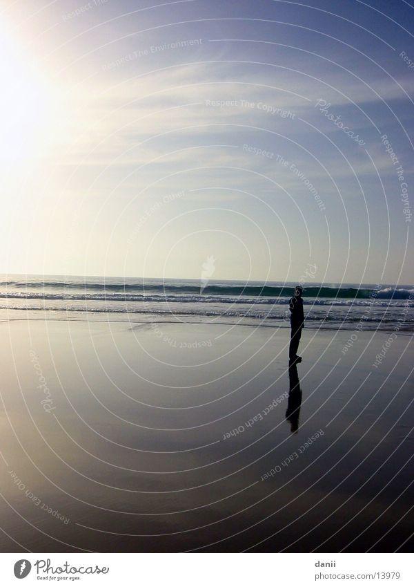 Der Walter Strand Meer Lissabon Nachmittag Wasser Mensch Himmel Sonne