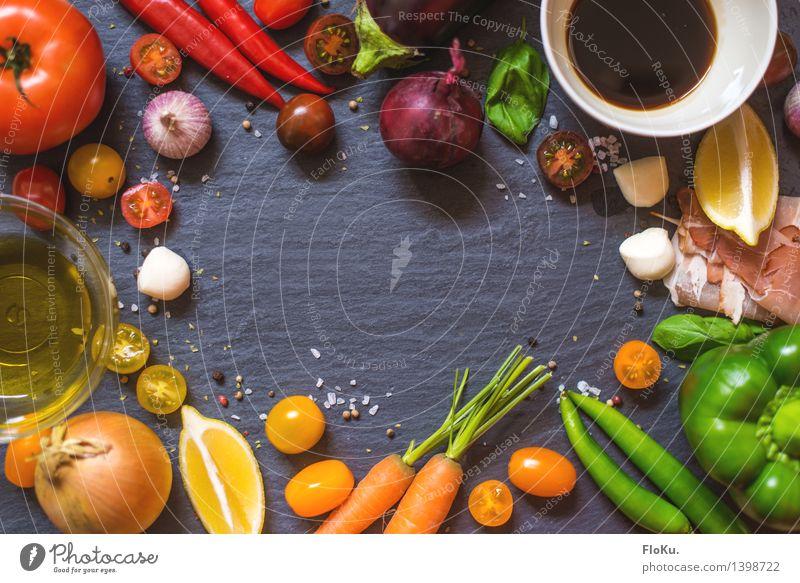 Einmal Schlaraffenland bitte Lebensmittel Wurstwaren Käse Milcherzeugnisse Gemüse Frucht Kräuter & Gewürze Öl Ernährung Büffet Brunch Festessen Bioprodukte