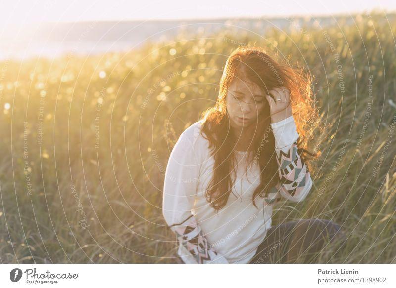 Saturday Sun Mensch Natur Ferien & Urlaub & Reisen Jugendliche Pflanze schön Junge Frau Erholung Meer Landschaft ruhig Ferne Strand Gesicht Umwelt Leben