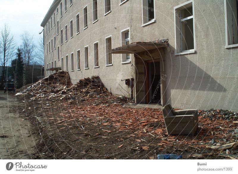 zu hause? Demontage Haus Ruine Architektur