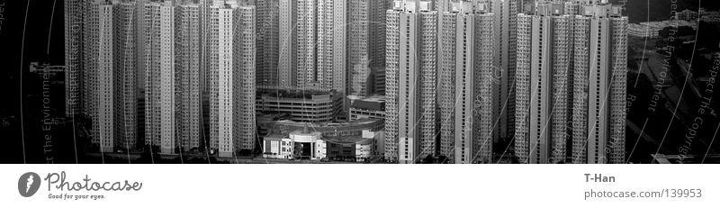 schwarz Leben dunkel Architektur Asien Häusliches Leben China Hongkong Höhle