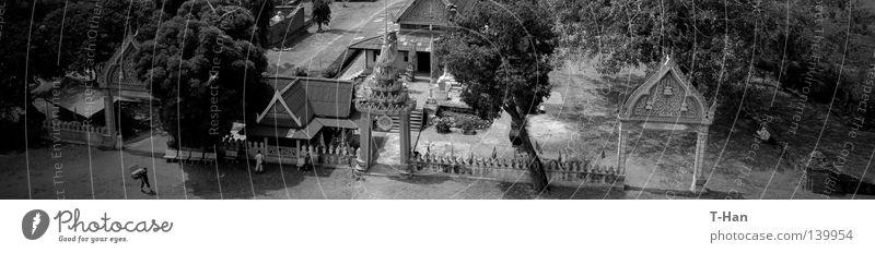 Landschaft Architektur Ausflug Asien Thailand Örtlichkeit Begrenzung Ayutthaya