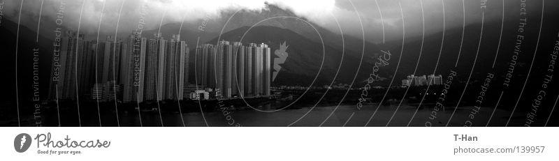 China Traum_2 Asien Lantau Insel Architektur Dichte Neustadt Mensch Olazens Hongkong Entwicklung