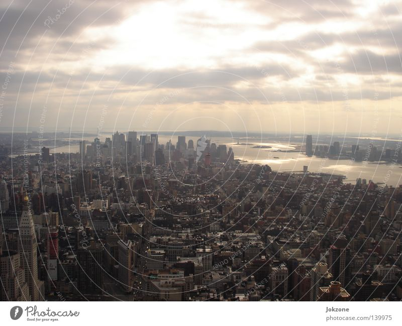 Ausblick Empire State Building New York City New York State Manhattan USA ESB Architektur