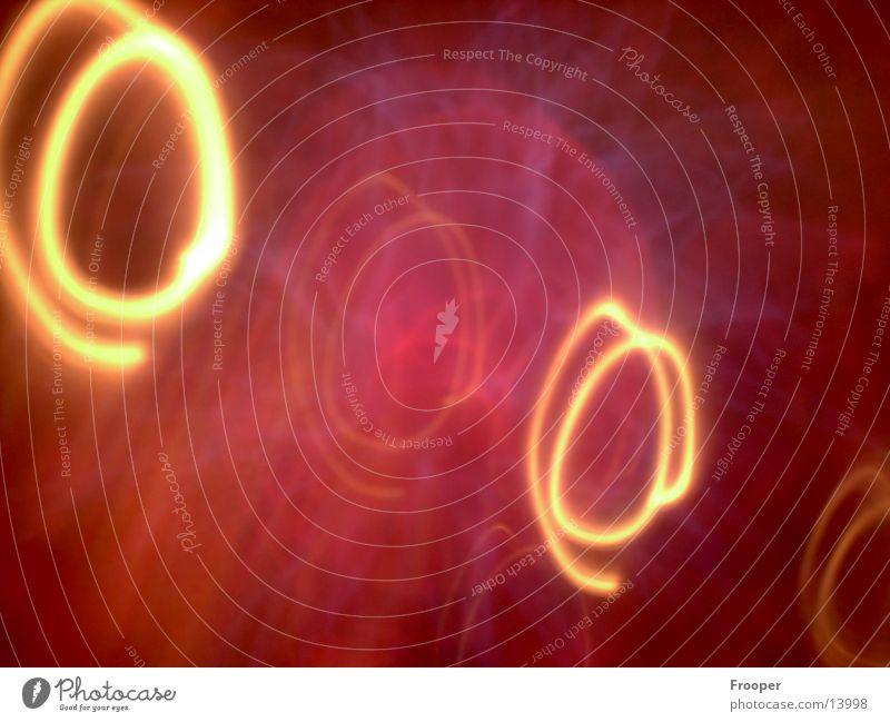 Lichtkreise hell Kreis modern Reaktionen u. Effekte