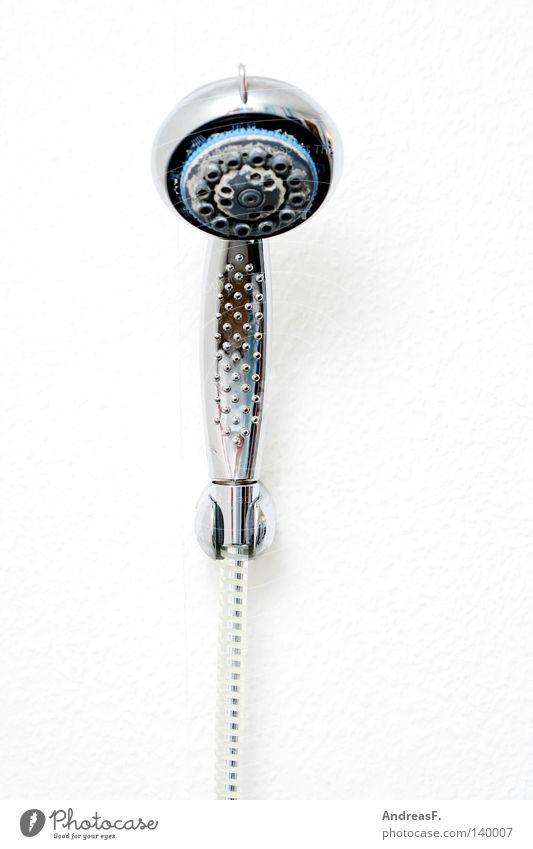 Morgendusche Bad Dusche (Installation) Duschkopf Duschschlauch Mikrofon singen Chrom Wohngemeinschaft Reinigen Warmwasser Wohnung Abwasser sanitär