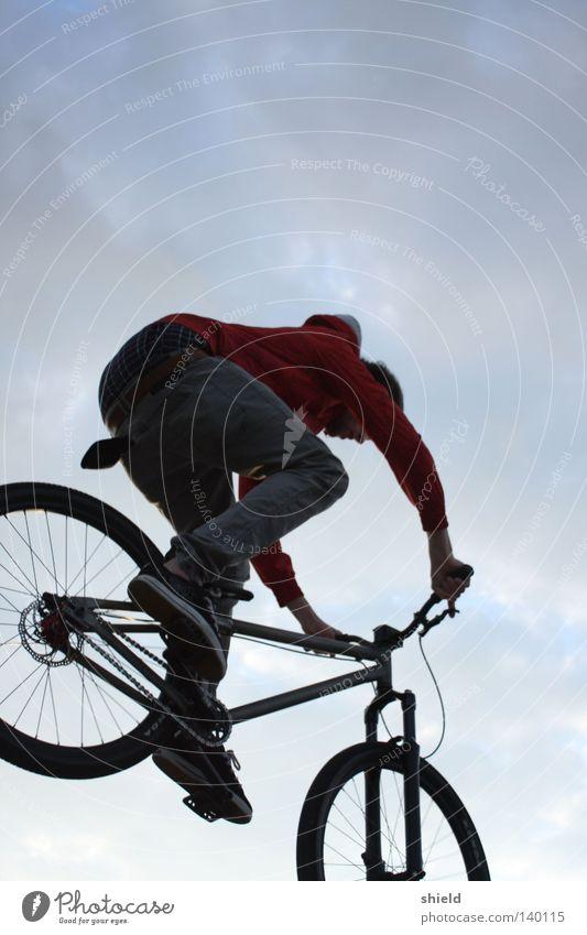 ein.tauchen. Himmel Sport Spielen Fahrrad sportlich BMX Mountainbike